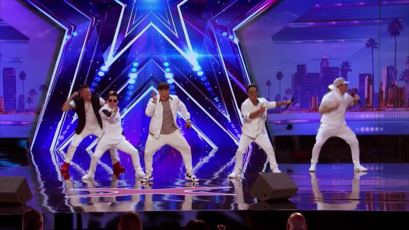 LEAK- Boy Band 0 Alive Slay an Amazing Rendition of Poison and Pony - Americas Got Talent 0017