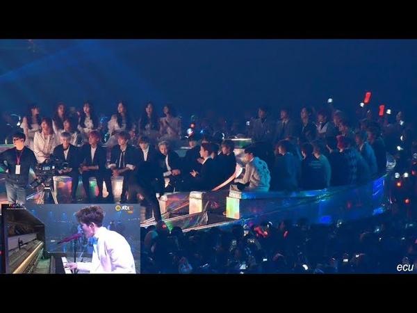 [4K] 181201 MMA [아이콘 사랑을했다이별길] 리액션 (Reaction to iKON stage) 여자친구(GF), 여자아이들(G-IDLE), 더
