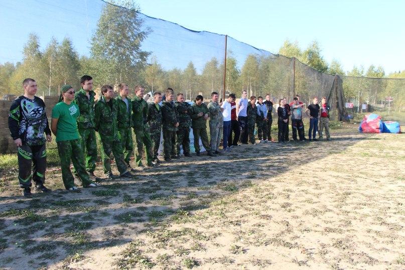 игра пейнтбол - Ивановский турнир