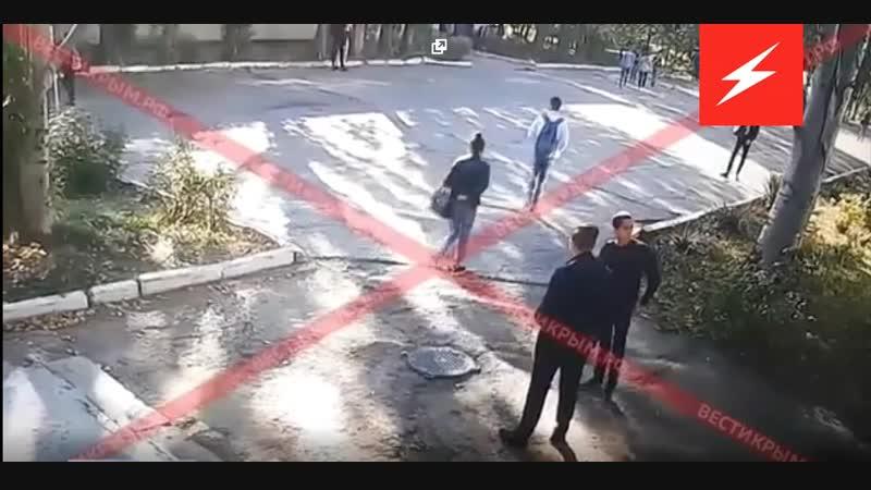 Камеры видеонаблюдения зафиксировали бойню в керченском колледже 18 1