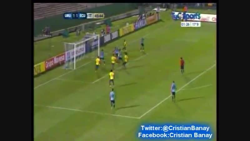 Uruguay 2 Ecuador 1 (Relato Roberto Moar) Eliminatorias Rusia 2018 [VDownloader]