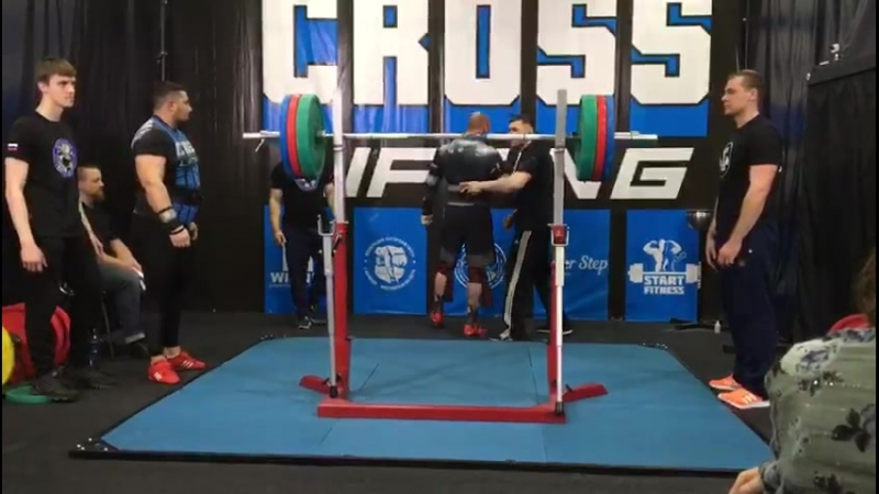 Дмитрий Янин 220 кг 2 подход незачет