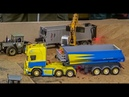 RC tractor MB Trac in 1:32 scale! Nice modified R/C model at Hof-Mohr!