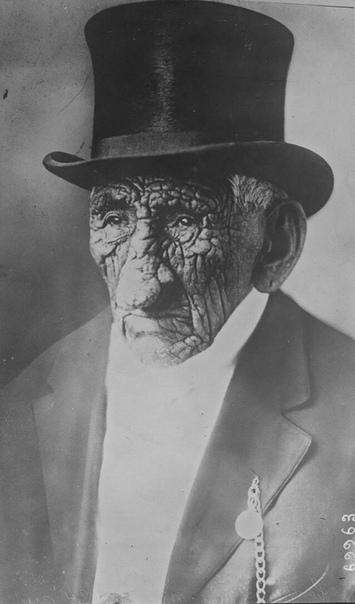 Джон Смит (индейский вождь) в возрасти 130 лет. США