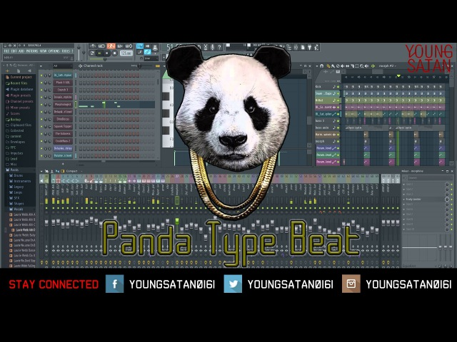 Desiigner Panda Type Beat Tutorial - [FL STUDIO 12]
