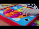 Мозайка для самых маленьких Веселые пуговки