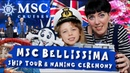MSC Bellissima Naming Ceremony and Ship Tour Dear Mummy Vlog