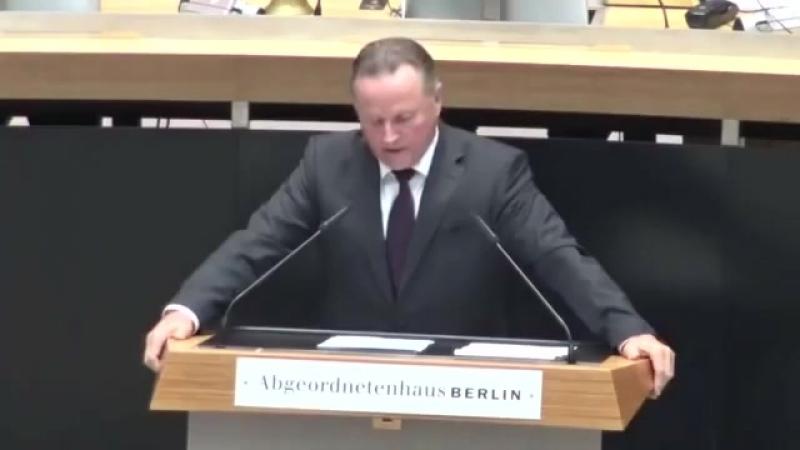 Georg Pazderski AfD rechnet mit den Regierenden in Berlin ab ► Rede im Berliner Abgeordnetenhaus