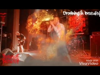 "Posthumous Blasphemer ""Drowning in Brutality"" Fragments of Madness"