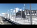 Présentation du projet architectural du futur centre de maintenance du tramway