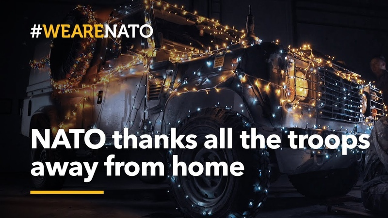 NATO thanks all the troops away from home this holiday - WeAreNATO