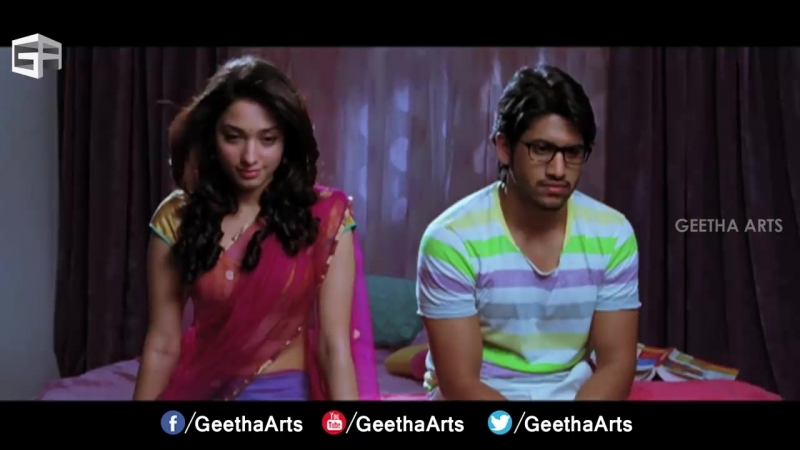 Infatuation __ 100 % Love Movie __ Naga Chaitanya, Tamannah