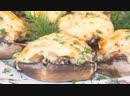 Фаршированные шампиньоны с курицей и сыром – очень вкусный рецепт!