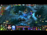 HyperX D2L Western Challenge - Fnatic vs Alliance game 1