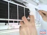 Очистка кондиционера очистителем Liqui Moly