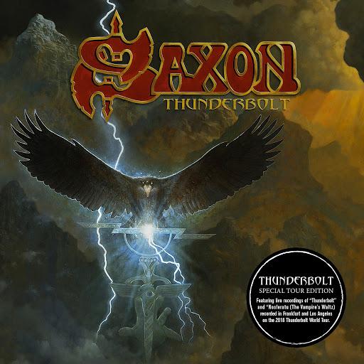 Saxon альбом Thunderbolt (Special Tour Edition)