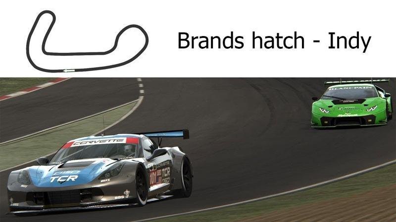 Track Day Brands hatch Indy Assetto Corsa Mix Camera