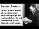Der Hooton Plan Deutsche ausrotten