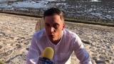 Loic Nottet - Interview - Les Francofolies de La Rochelle 110718