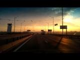 Приятный рассвет пустого города... Телиги-Петровка-Московский мост-пр.Ватутина-Троещина Lanos 1.5 baracuda
