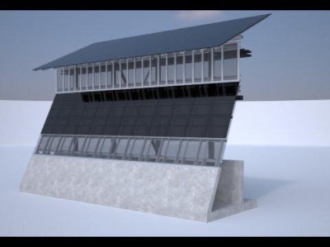 US Mexico Border Wall Prototypes Of Solar Power Energy Full Compilation