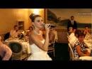 Невеста читает реп на свадьбе в подарок жениху.