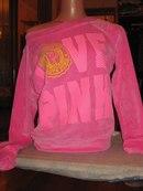 Love Pink Велюровые Костюмы