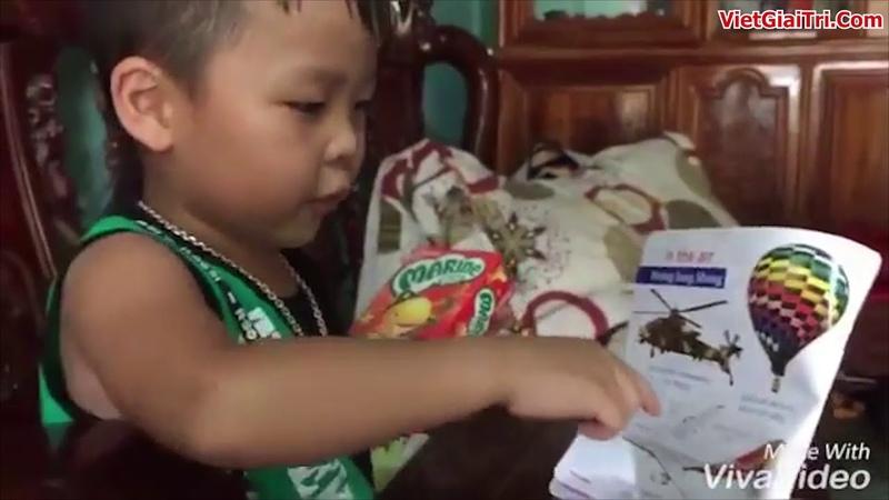 Cậu bé 4 tuổi ở Hà Tĩnh bắn tiếng anh như gió