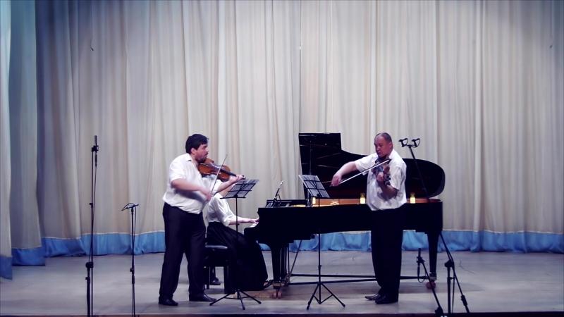 Павел Юон - Трио для скрипки, виолончели и фортепиано (I часть)