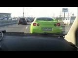ДПС погоня за Nissan GTR