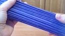 15 Красим трубочки колером и делаем их пластичными: лакводафен. ENGLISH SUBTITLES.