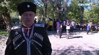 В Керчи кадеты казачьего класса приняли присягу