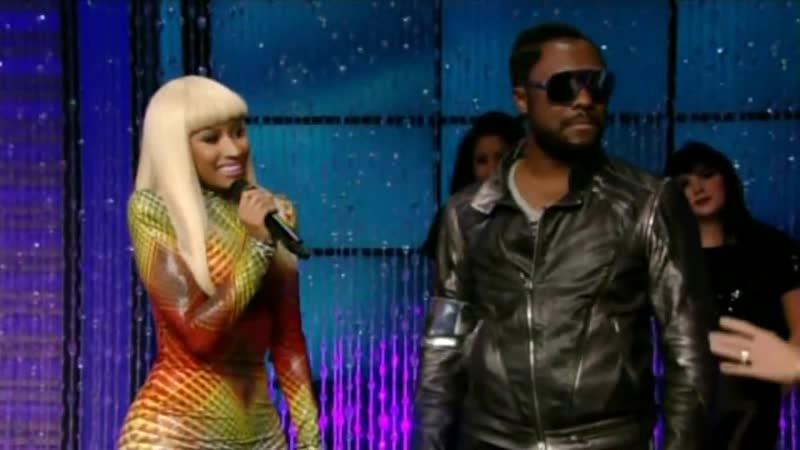 Nicki Minaj Will.I.Am - Check It Out (Live On Regis Kelly, 2010)