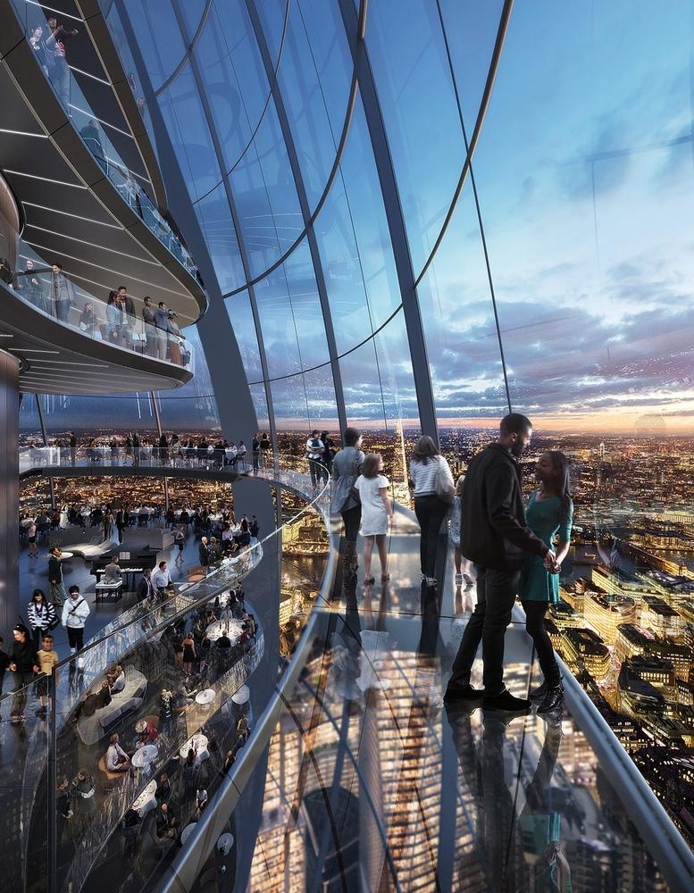 Один из самых необычных небоскребов появится в Лондоне