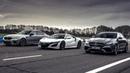 Honda NSX vs BMW M5 Competition vs Mercedes-AMG E 63 S | Drag Races | Top Gear