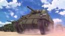 Girls und Panzer Saunders
