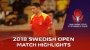 Jun Mizutani vs Xu Xin I 2018 ITTF Swedish Open Highlights (R16)