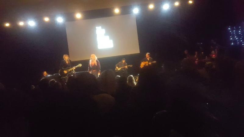 Taylor Swift joins Hayley Kiyoko @Town Hall NYC Ally Coalition Benefit 12 5 18