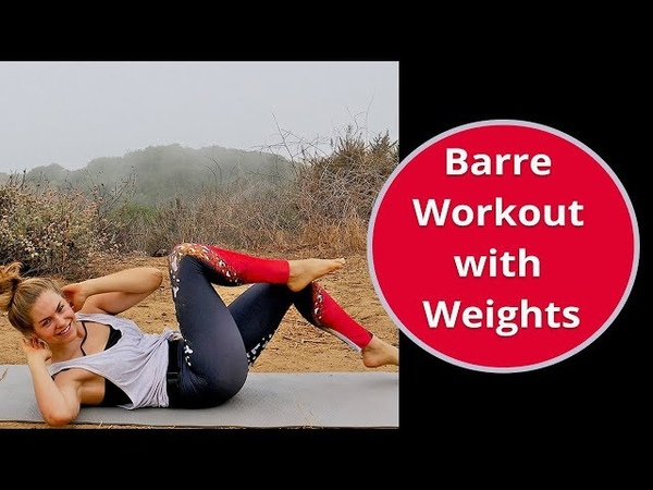 Barre Workout with Weights - Abs Butt Floor Workout