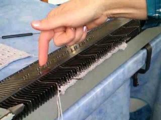 вязание на машине нева схемы.