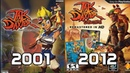 Evolution of Jak and Daxter Games 2001 2012