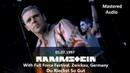 Rammstein - Du Riechst So Gut (clips) at Full Force Festival, Germany (1997) [Pro-Shot] 1080p