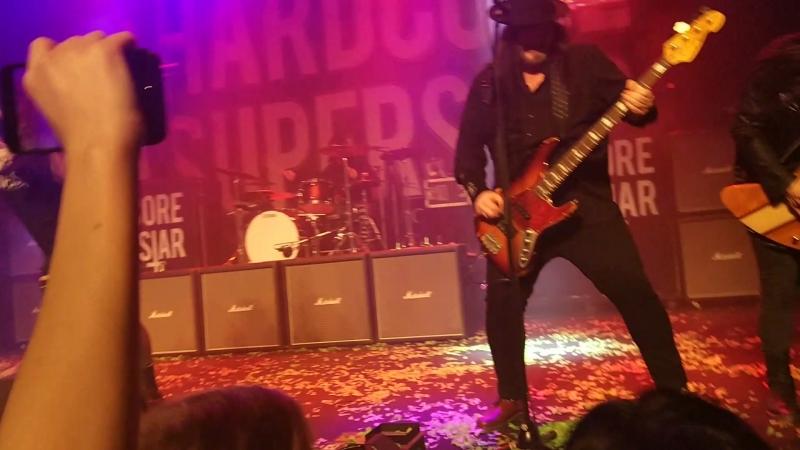 Hardcore Superstar - My Good Reputation [live @ Lokomotivet, Eskilstuna, 31.03.18]