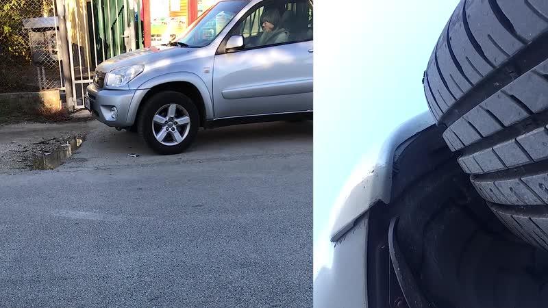 Candid milf gir run over my hidden iphone 5s Hyundai Tucson 1545 kg