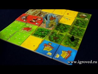 Лоскутная империя (Queendomino). Обзор настольной игры от Игроведа.
