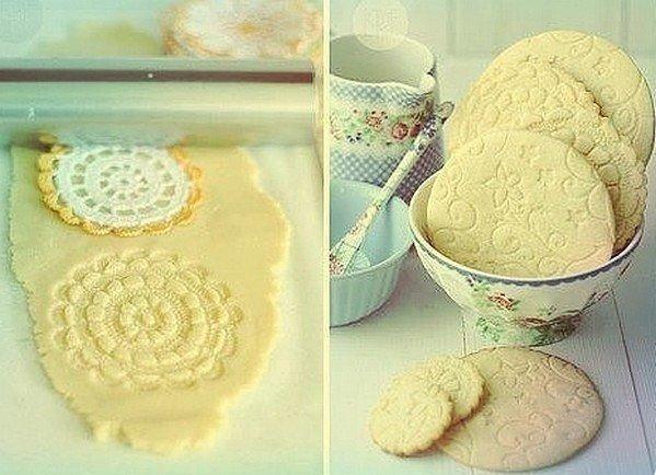 Как сделать узор на печенье
