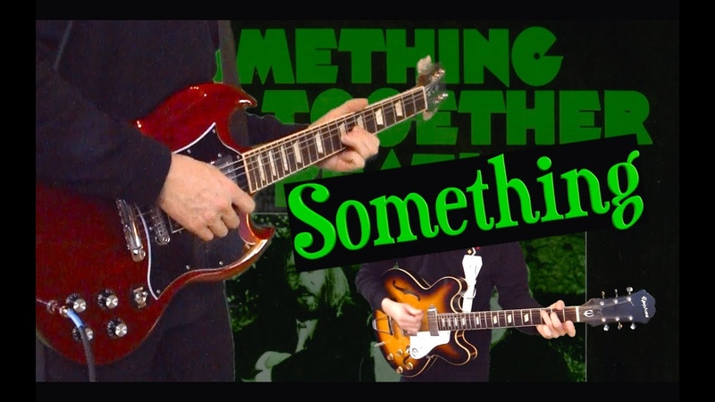 Something - Instrumental Cover - Guitar Solo, Bass, Drums, Strings