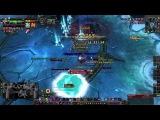 Blood DK VS The Lich King 25 Heroic ДК соло Король-лич 25хм