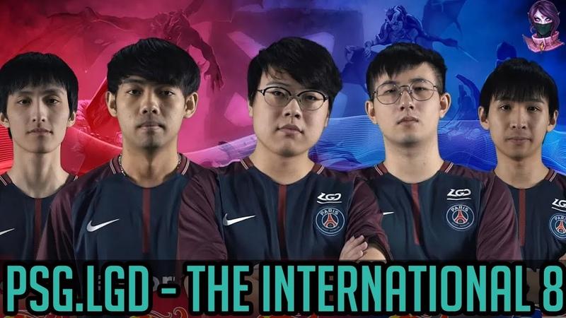 PSG.LGD Profile. The International 8 Directly Invited Team. TI8 Dota 2 by Time 2 Dota dota2 ti8