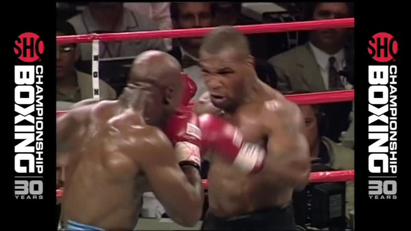 BE REAL Mike Tyson vs Evander Holyfield 2 1997 Mad Fight Tyson Loses Control mp4